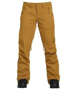 Burton Vida Womens Camel Waterproof Snow Pants Sz Small 58515
