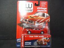 Auto World Pontiac Firebird Trans Am 1975 with Eagle Red 64112B 1/64