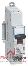 Disjoncteur unipolaire+neutre DNX3 25A Auto/Vis Legrand 406785