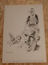 Don Schollander Print George Loh Drawing Frameable Print Olympic Swimming Champ