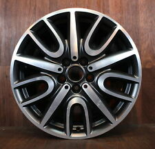 Originale Mini Countryman F60 Cerchi Alluminio Jcw 529 Nero Opaco Brivido Raggio