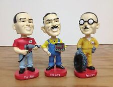 Set of 3 ~ Manny Moe and Jack Pep Boys Auto PROMOTIONAL Bobblehead Set