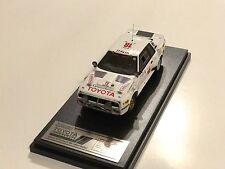 *RARE!* HPI #8939 Toyota Celica Twincam Turbo 1984 Safari Rally 1/43 model