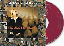 MARGRIET ESHUIJS - House for sale CD SINGLE 2TR DUTCH CARDSLEEVE VERY RARE!