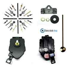 New Complete Quartz Pendulum Clock Movement Mechanism Metal Hands 18mm Shaft