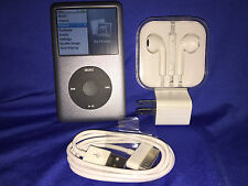 *RARE* NEAR MINT Black Apple iPod classic 7th (160GB)+ 2yr war + BONUS!