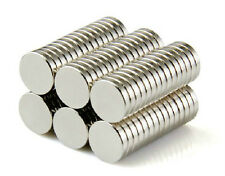 30 Neodymium Magnets 1/4 x 1/16 inch (6  x 1.5 mm) Disc N50, New, Super Strong