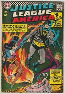 Justice League of America #51 GD 2.0 Z for Zatanna and Zero Hour, 1967 DC