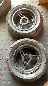 Grc Rr Rrz  Rrz3 Billet Alloy Wheels  Pmt Junior  R Tyres Tevo Blata Mini Moto