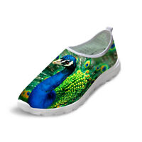 Animal Womens Running Shoes Breathable Anti-slip Casual Flat Sneakers Slip On