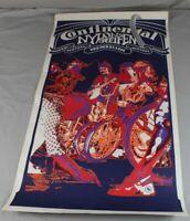 altes Reklame Plakat - Continental Nylon Reifen - Pop Art Stil 1970er J. /HS
