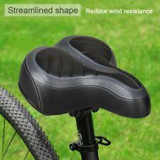 Comfort Wide Big Bum Bicycle Gel Cruiser Extra Sporty Soft Pad Saddle Seat US