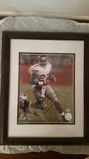 """Brandon Jacobs Autographed Photo """"CERTIFIED"""" framed 16""""X13"""""""