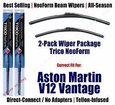 2pk Premium NeoForm Wipers fit 2010-2011 Aston Martin V12 Vantage - 16240/200