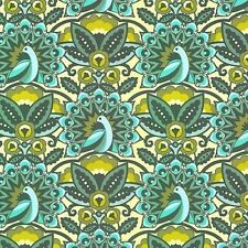 Feather and fancy peacock BY benartex - 100% cotton fabric