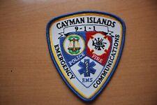 Patch ( Cayman Islands ) : Cayman Islands Emergency Communications 95 mm x 105 m