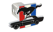 "Ford Mustang Pony 3 Color Bar Trailer Tow Hitch Cover Plug  2"" Receiver Tow Cap"