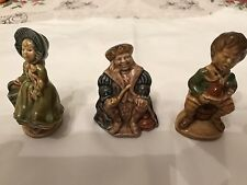 3 Wade Pottery Nursery Rhyme Figures Jill ,Old King Cole And Little Jack Horner