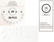 Voir- carton blanc double fenêtre 17,5mm de: staple