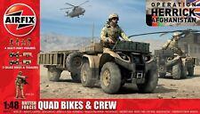 Airfix British Quad Bikes & Crew - Operation Herrick 1:48 Model Kit - A04701