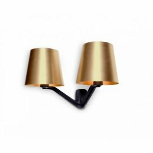 Tom Dixon Dimmable Base Brass Wall Light Sconce