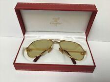 Vintage Cartier Vendome sunglasses