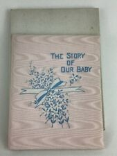 Antique Baby Book 1919 Vintage Childrens Illustrated New Box Starks Soft cover
