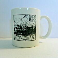 Susquehanna Pennsylvania PA First Locomotive Coffee Mug White Erie Shops