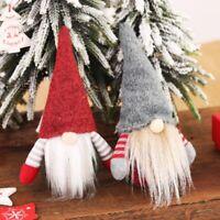 Parteien Weihnachtsbaum Hängt Christmas Ornament Anhänger Plüsch Gnome Doll Deko