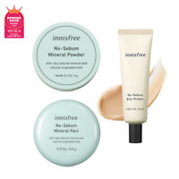 [Innisfree] No-Sebum Mineral Powder / Pact / Blur Primer - Makeup Korea Beauty