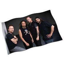 "Metallica Flag Banner 29"" NEW Nothing Else Matters Enter Sandman The Unforgiven"