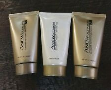 Lot of 3 Avon Anew Ultimate Cream Cleanser  7S 1.7 New Sealed Age Repair Discon.