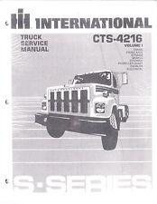 International 3600 4600 4700 4900 8100 8200 S1600 S1700 S1800 Repair Manual 4216