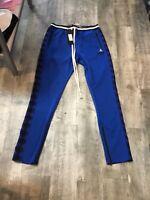 BLACK PYRAMID BY CHRIS BROWN BLUE MENS TRACK PANTS SIZE XL NEW