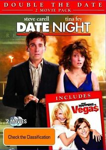 DATE NIGHT + WHAT HAPPENS IN VEGAS DOUBLE PACK DVD R4 PAL- Free Post!