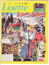 LISETTE N°4 du 27 janvier 1957 Solveg