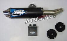 HMF Comp SLIP ON Exhaust Pipe + CDI/ECU Box Honda TRX 400EX 99 00 01 02 03 04