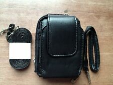 AWESOME Small Black Embassy GENUINE LEATHER Purse/Wallet