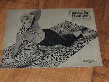 Wiadomości Filmowe 39/1959 polish magazine Kim Novak, Louis Jouvet, Henry Fonda