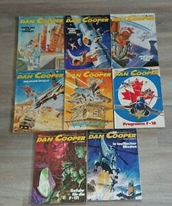 8x Dan Cooper - Comic Sammlung