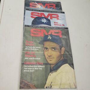 Lot of 3 SMR Magazine PSA May, June, July 2019 New Factory Sealed Koufax Griffey