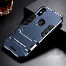 Luxury Armour Hard PC Back With Stand Cover Case for iPhone 7 8 11 Pro MAX XS XR