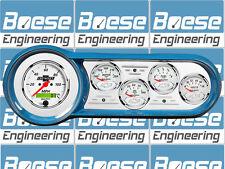 53-54 Chevy Car Billet Aluminum Gauge Panel Dash Insert Instrument Cluster