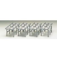 Tomix 3041 Concrete Piers for Double Tracks 4pcs - N
