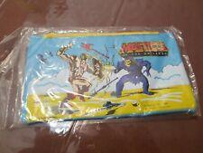 Vintage 1983 Masters of the Universe He-Man Pencil Pouch Case - Rare /w Bonus!