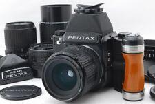 【Exc+++++】Pentax 67 LateModel Mup 6x7 w/SMC P 55,90,135,200mm,4Lens,from JAPAN