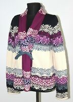 Odd Molly 654 womens cotton cardigan jumper pullover Size 4