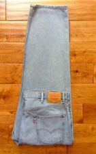 AWESOME! Levis 550 LIGHT Wash Relaxed Fit Mens Jeans TRUE 42x30 GREAT CONDITION