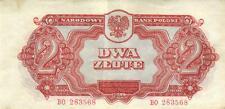 05 Poland / Polen P106 2 Zlote 1944 Prefix BO