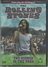 THE ROLLING STONES THE STONES IN THE PARK DVD EAN 5014138502812 SIGLLATO!!!
